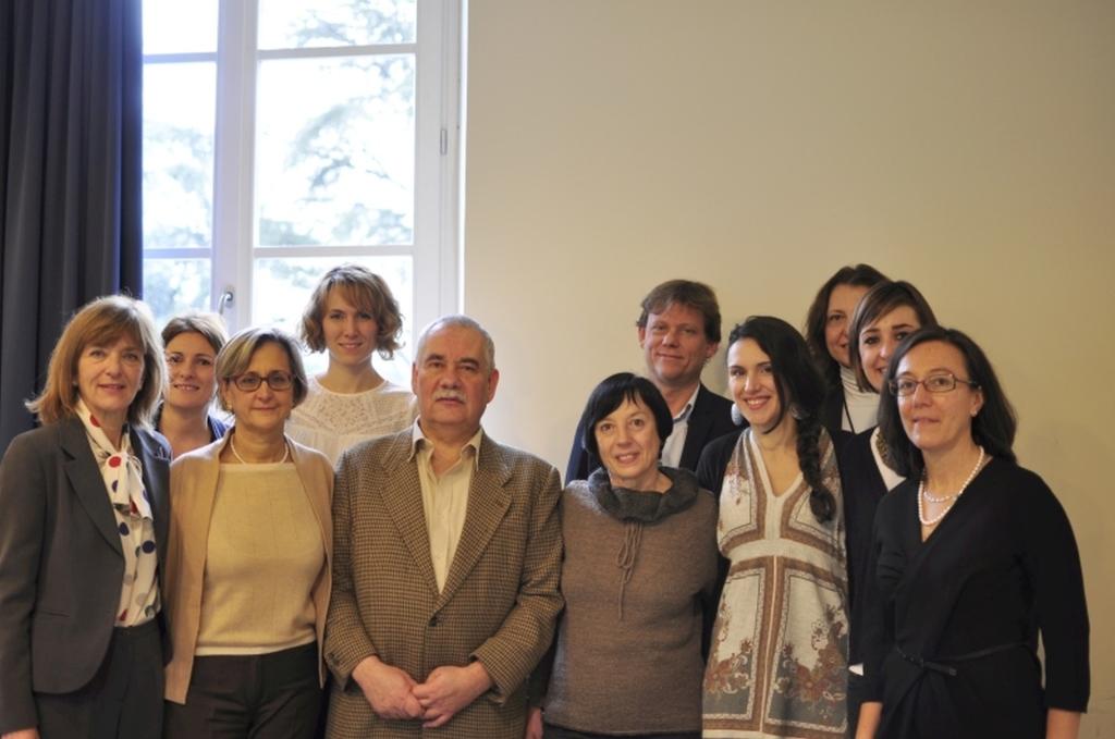 Nella foto il team, comprensivo del capo progetto dr. Maria Jose Caldes e dei dottori Francesco Silenzi e Stefania Losi del Gruppo Gaia del Meyer