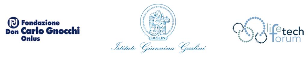 loghi-fondazione-don-gnocchi-gaslini-life-tech-forum