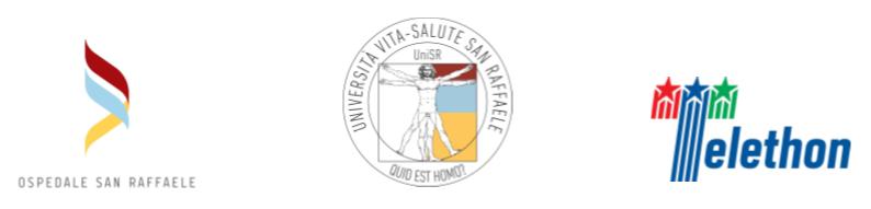 loghi-ospedale-san-raffaele-universita-san-raffaele-telethon