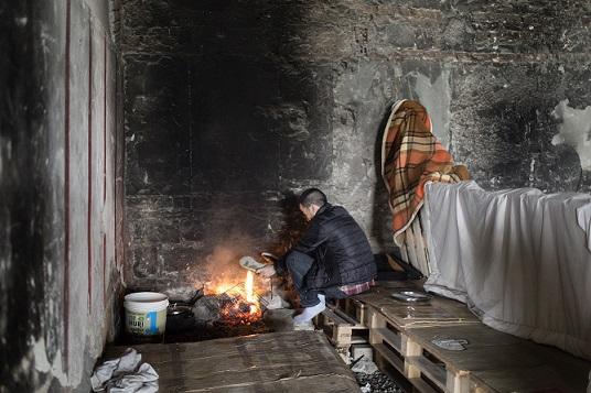 10mila rifugiati in edifici occupati