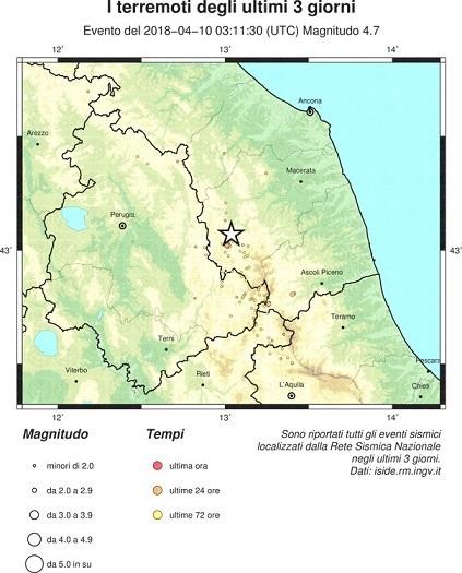 Terremoto Marche, il 6 aprile Ingv scriveva:
