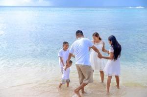 famiglia-al-mare
