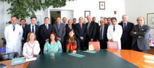 Delegazione italiana e tunisina