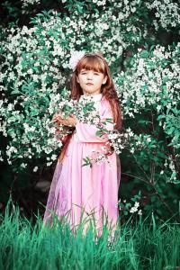 bambina-fiori