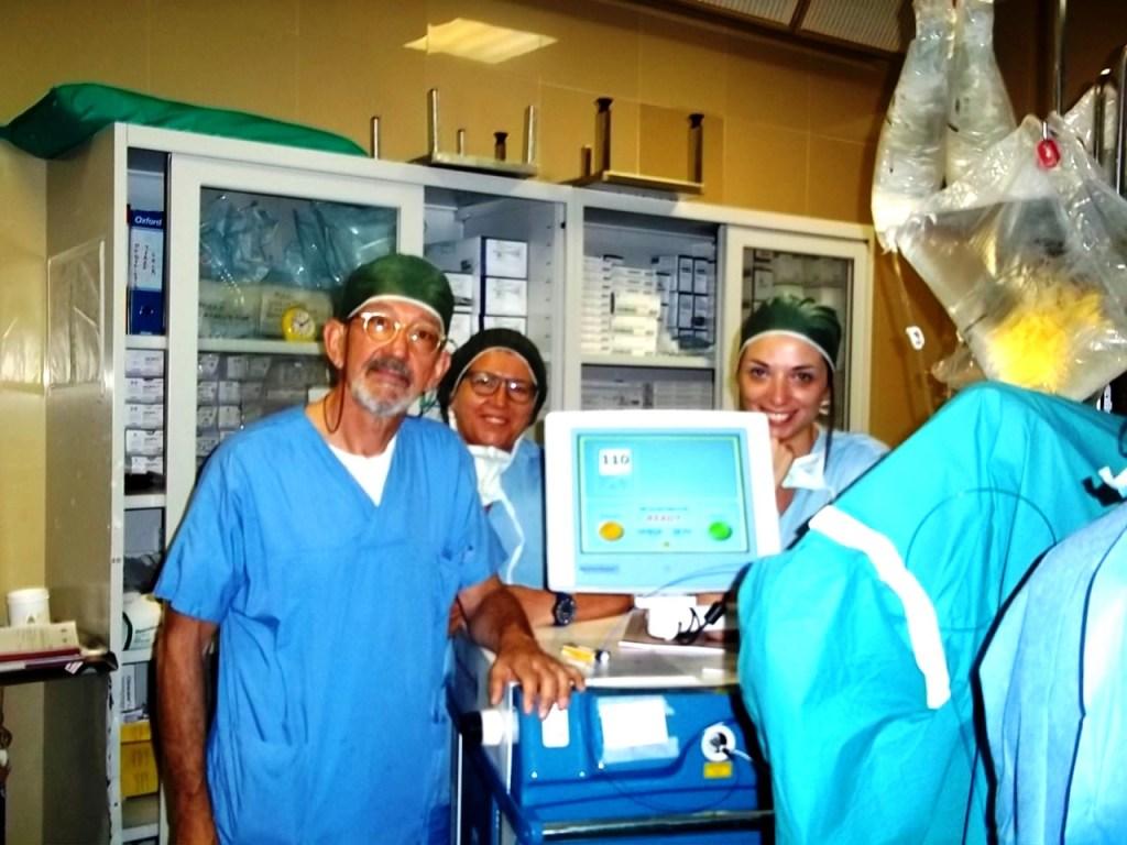 intervento alla prostata con laser tullio e effetti collateralis