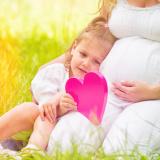 gravidanza-donna-bambina