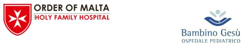 loghi-order-of-malta-holy-family-hospital-ospedale-bambino-gesu