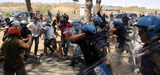 migranti-scontri