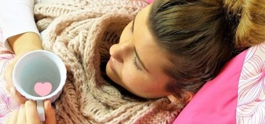 donna-influenza-letto