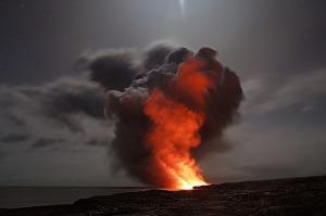 vulcano-eruzione