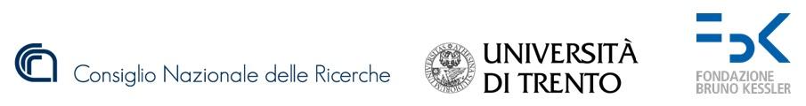 loghi-cnr-universita-trento-fondazione-bruno-kessler