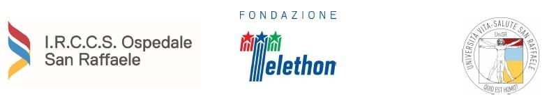 loghi-irccs-ospedale-san-raffaele-fondazione-telethon-universita-vita-salute-san-raffaele