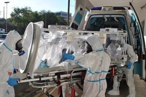 aou-sassari-esercitazione-ebola-arrivo-ambulanze