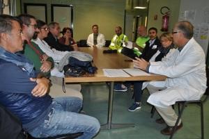 aou-sassari-esercitazione-ebola-briefing